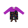 Girl Halloween Long Sleeves Blouse Tie Knot Kids Shirts Girls