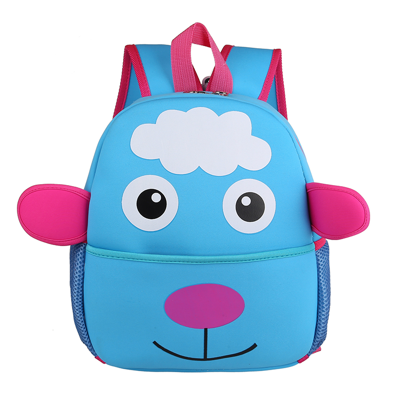 Children Cartoon Sheep Mochila Wholesale Stock Kids Backpack Lovely 3D Bags