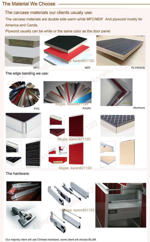 european standard slab design thermofoil kitchen cabinet door