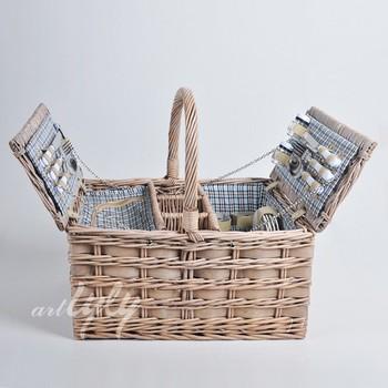 Hot Picnic Basket With Wine Holder