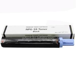 copier toner cartridge for canon NGP59 NPG-59 be used for canon IR 2202DN  2202N 2202L 2002G 2002L empty toner cartridge toners