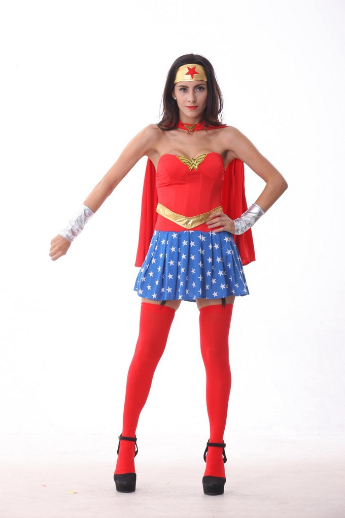Adult Wonderwoman Costume 46