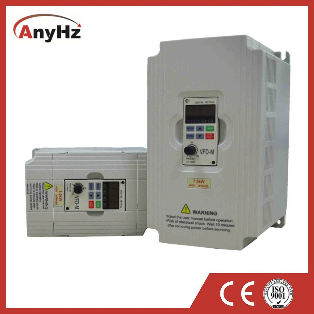 380v 60hz energy saving mini variable frequency converter for pump fan