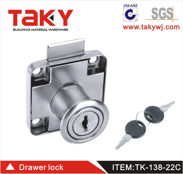 Taky-138-22C Office Desk Locks furniture drawer locks