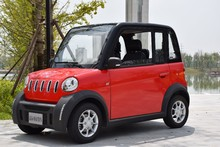 L7e EEC certificate Electric smart 4 seat car LHD RHD 4 wheel high speed with air conditioning