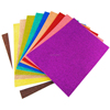 Glitter EVA Foam Sheets Arts and Crafts, Plastic Sheets Self Adhesive