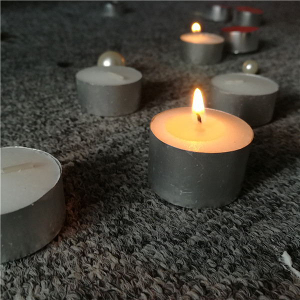 17g 6 hour white tea light candles factory China best quality
