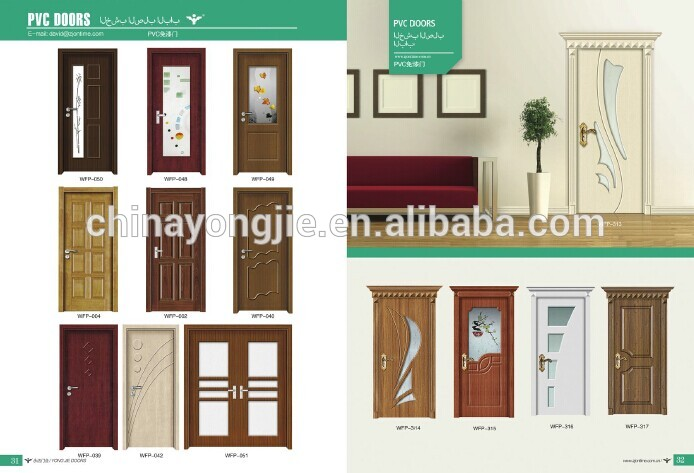 zhejiang yongkang modern house design pvc bathroom door design - Bathroom Doors Design