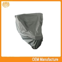 Brand new peva/pvc+pp outdoor waterproof motorcycle tent cover made in China