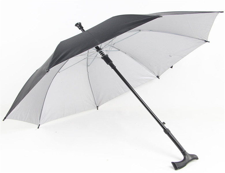 J1056 High Quality Standard Umbrella Size Walking Sticker Golf Umbrella