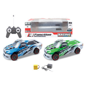 Popular kids led model rc car 1 10 scale 4-channel remote control car