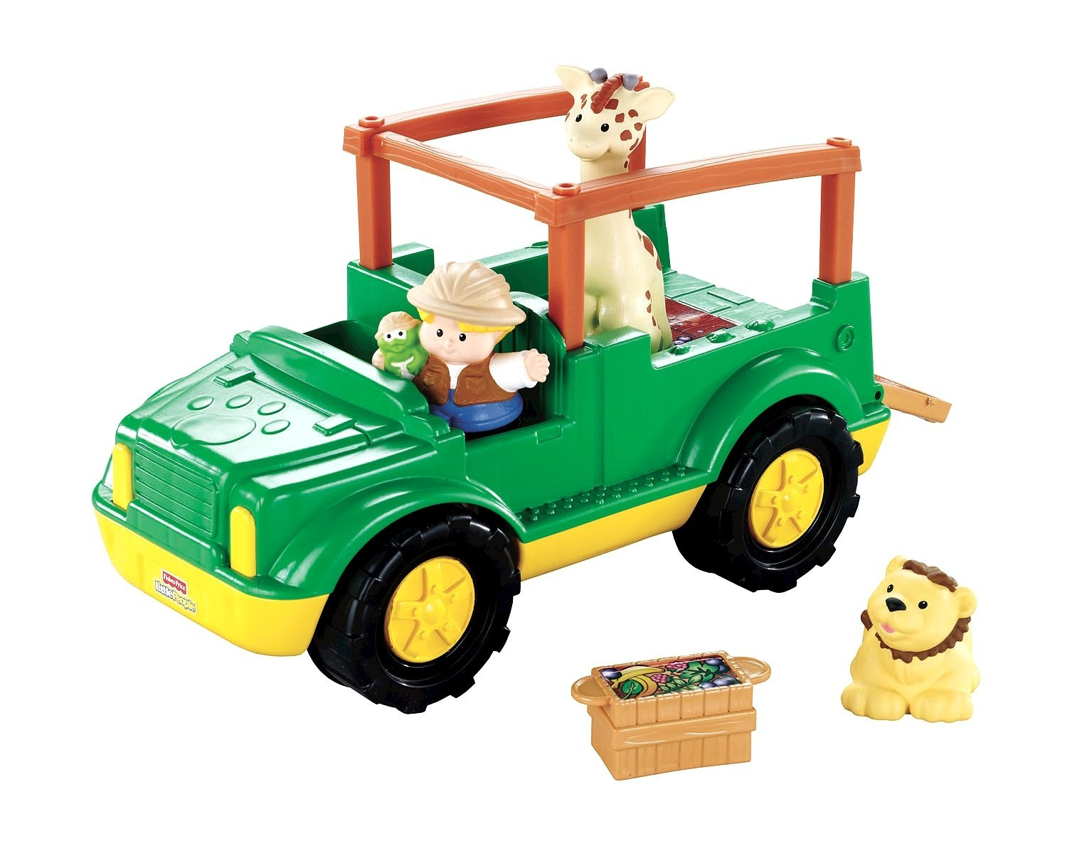Fisher-Price Little People Zoo Talkers Animal Sounds Safari Truck