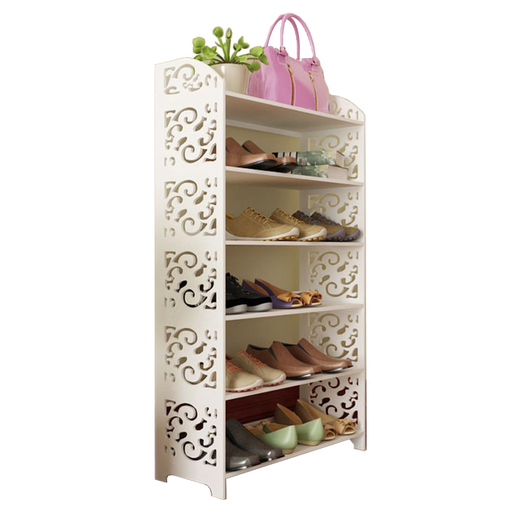 tier kitchen whitmor cheap faux dp shoe amazon home leather com rack
