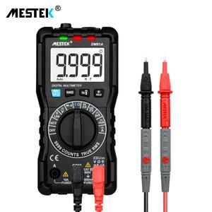 Factory Price Mestek Multimeter 10000 Counts DM91A 600V/10A Voltage Current Resistance Tester
