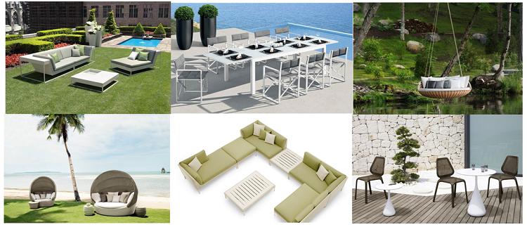 New Outdoor Cast Aluminum Patio Furniture Sofa Set New Designs ...