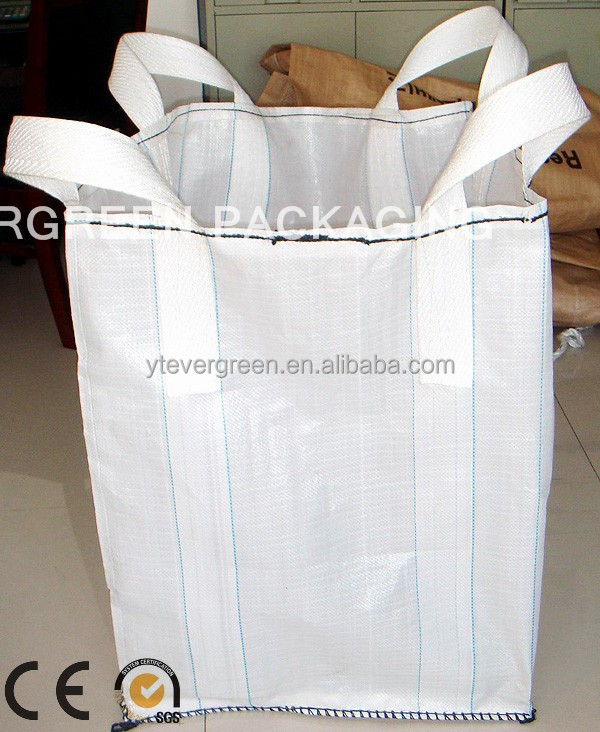 <strong>pp</strong> woven bulk big sack bags with discharge spout/<strong>pp</strong> mesh bulk bag