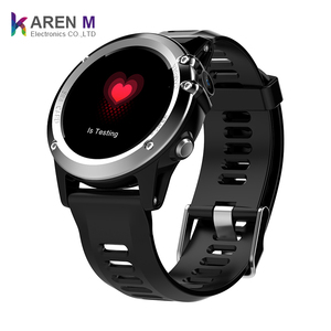 Android 4.4 H1 smart watch phone IP68 waterproof MT6572 3g wifi GPS sim smartwatch