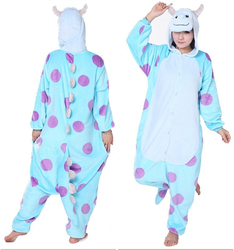 78307d5a9dde New Adult Monster University Mike Wazowski amp Sulley Costume Cosplay  Pajama Onesies Cute Cartoon Animal Onesies sleepwear in Cheap Price on  m.alibaba.com