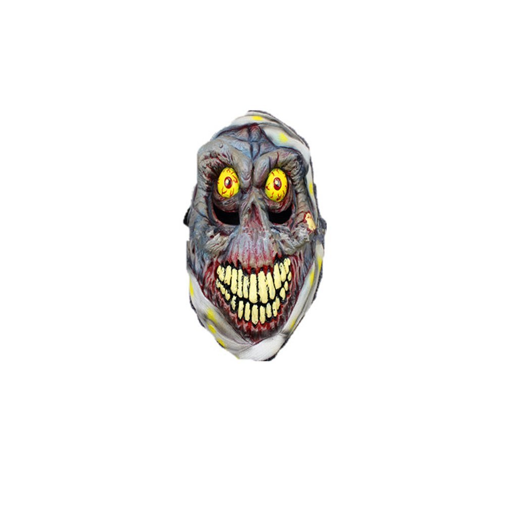 Syrinx High-Quality Halloween Mask Terror Goblin Mask - Full Mask Latex(eye)