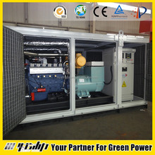 500kw biogas generator, CNG/LPG/Methane gas as fuel