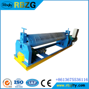 Manufacturer In China W11 plate rolling machine