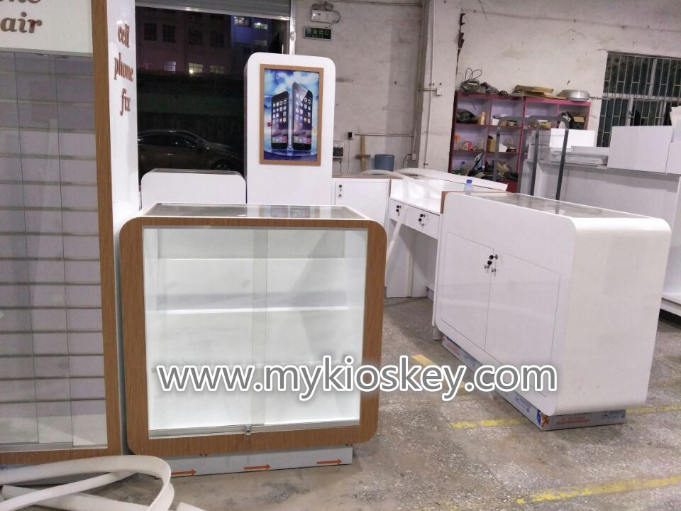 most attractive cell phone fix store unlock phone repair kiosk used in mall
