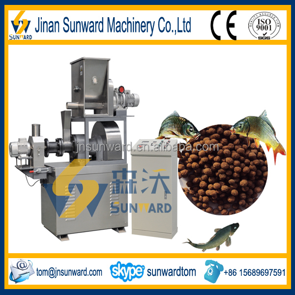 Small Capacity Fish Feed Pellet Machine With CE