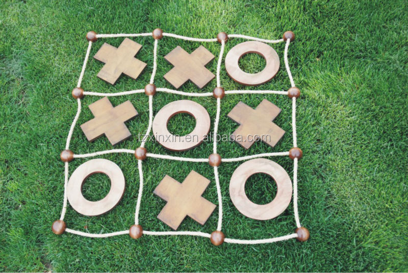 Tic Tac Toe Aus Holz Oder Mdf Für Kinder Und Erwachsenegartenspiele