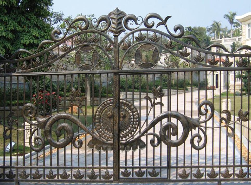2016 High Quality Forged Metal Craft Garden Gate Design Buy Gate