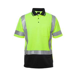 Custom Printing Logo Reflective Safety T Shirt