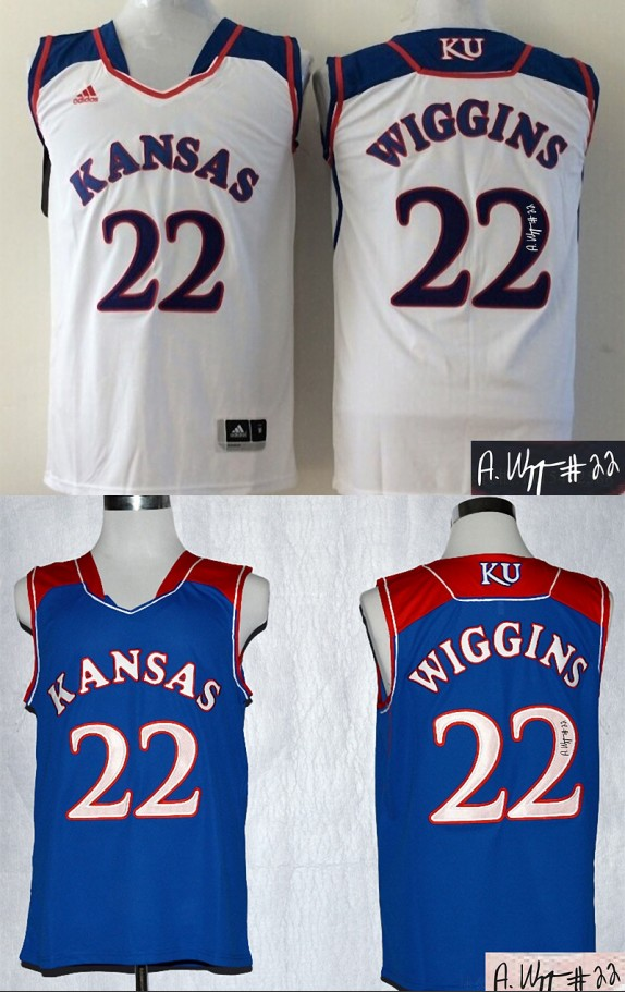 c264cc49f6f ... 22 ku college basketball authentic a8c65 1a301  new arrivals andrew  wiggins kansas jayhawks jersey 85c15 09a32