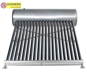 Compact non-pressurized solar water heater himin solar