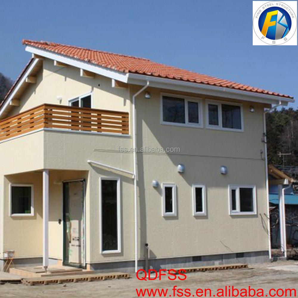 Prefabrique maison steel structure villa style small house