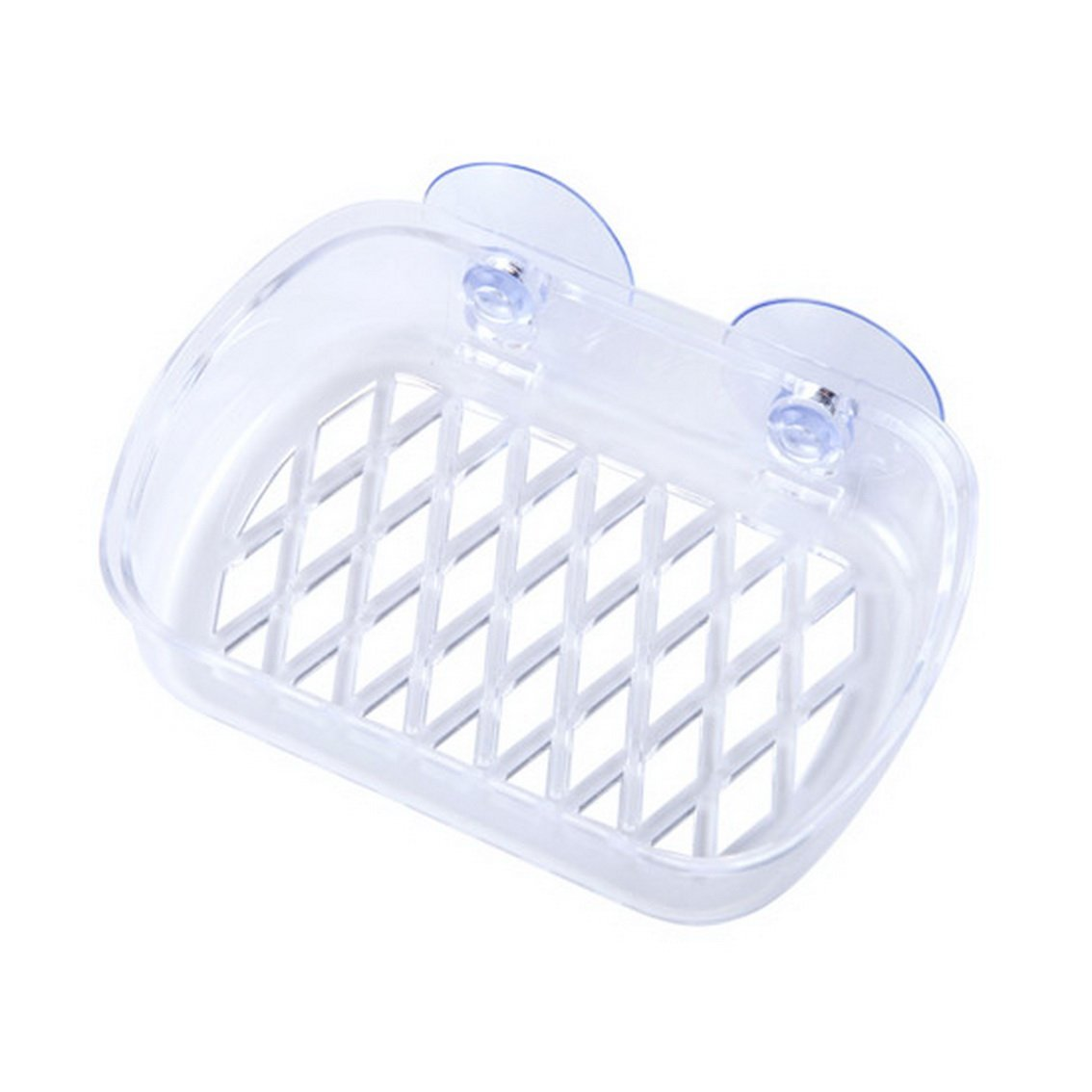 fengg2030shann Plastic suction cups suction wall soap box type drain soap dish soap box soap sponge wall shelving rack. Sucker soap box Soap box sucker soap box Soap holder sucker soap box racks