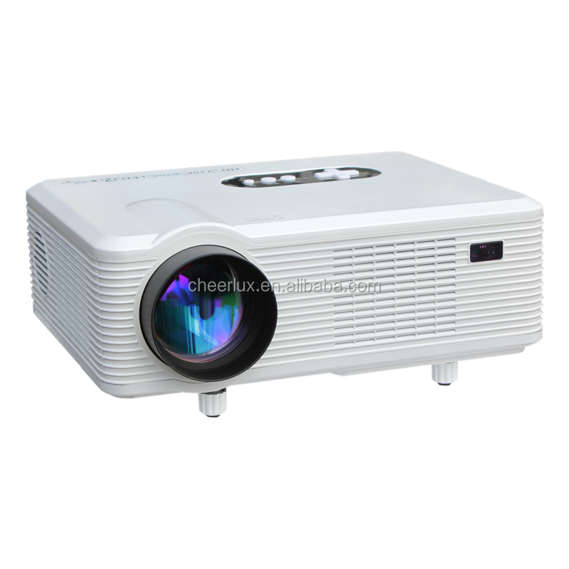 Computer Projector With hdmi usb vga tv Media Tuner For Home School Office