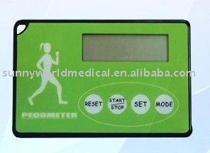Card Shape Multifunctional Pedometer
