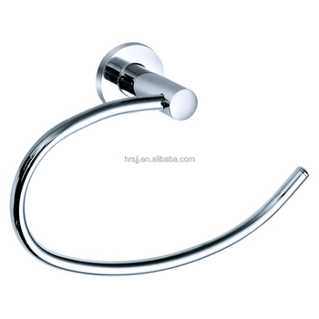Chinese Bathroom Accessories Stainless Steel Towel Ring Holder Zinc Chrome Plated