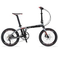 20 inch Folding Bike T800 Carbon Fiber bicycle Ultralight SHIMAN0 Mini Compact for City Tour Bike and Children carbon fold bike