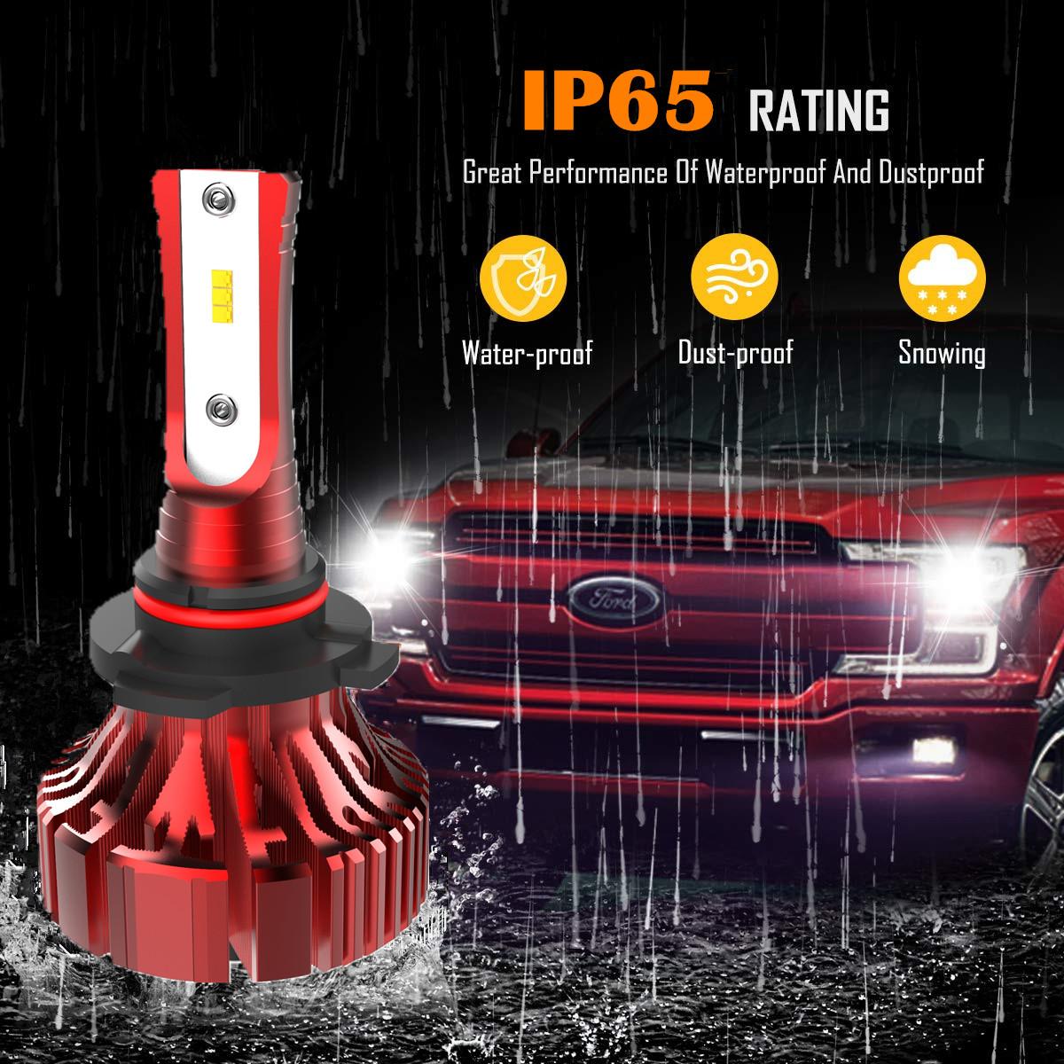 I8 Fanless Mini LED Headlight