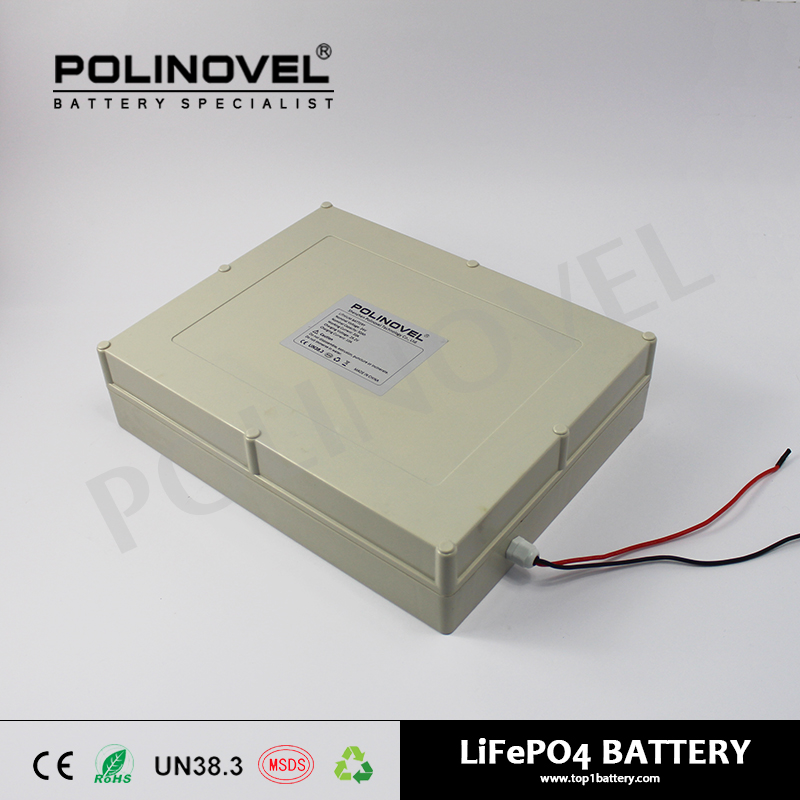 24V 50Ah rechargeable lifepo4 battery pack for street light