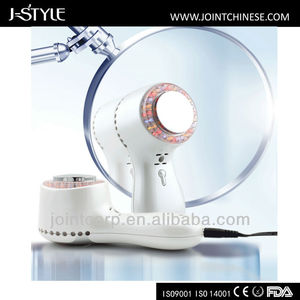 J-Style Mini Portable Cavitation Home Use Ipl Face Lift Anti Wrinkle Skin Toning Ultrasonic Red Blue Light Therapy