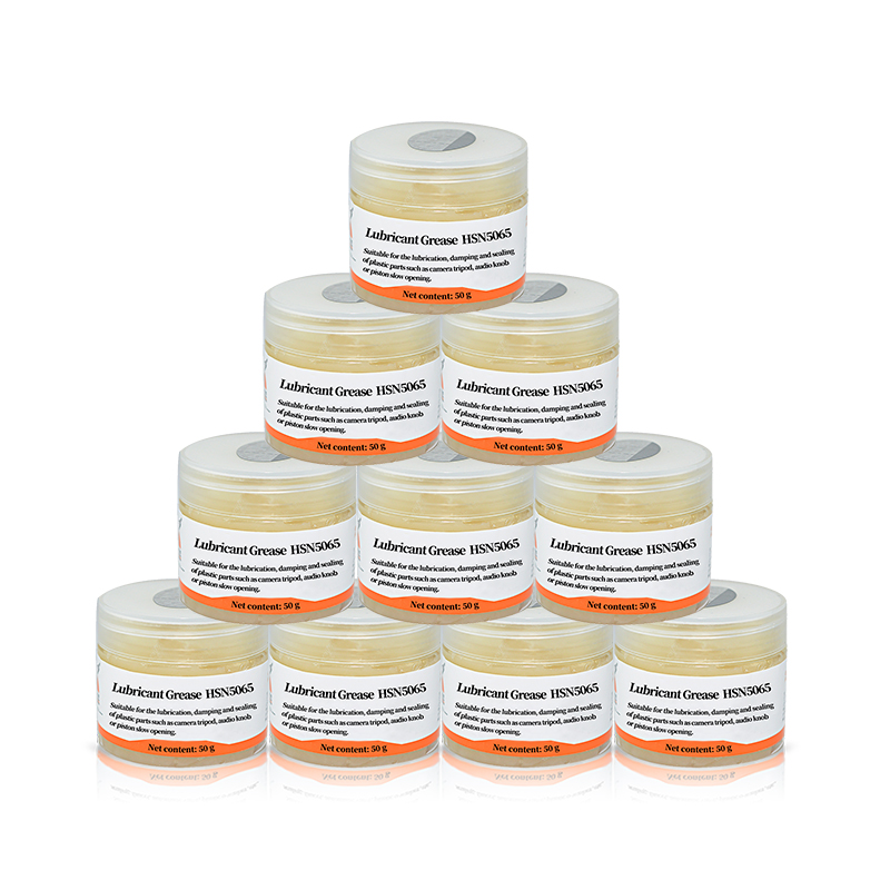 Water resistance damping lubricating grease