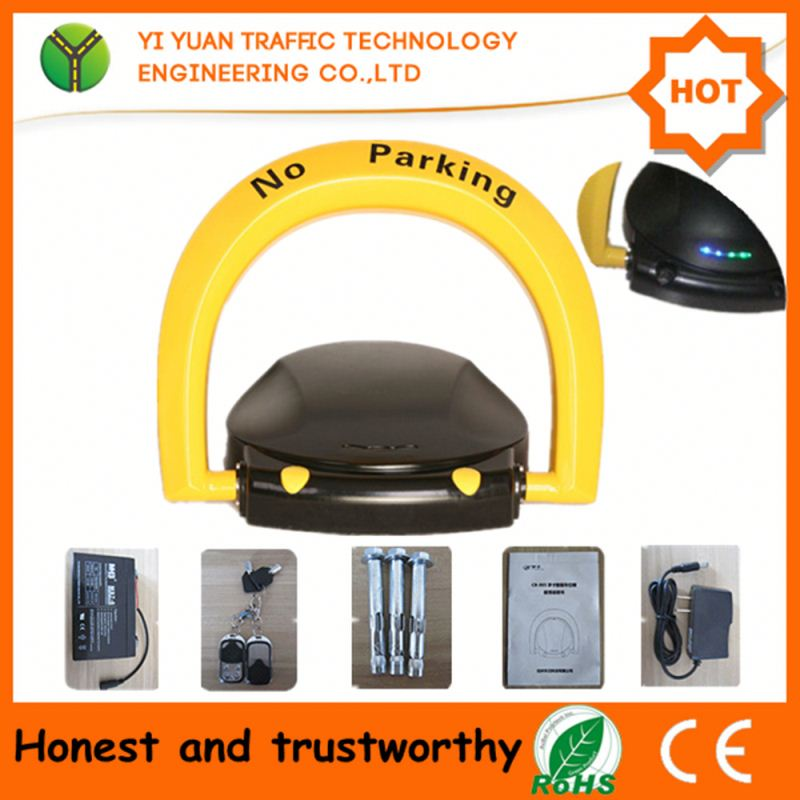 CE approved automatic remote car parking lock hydraulic barrier