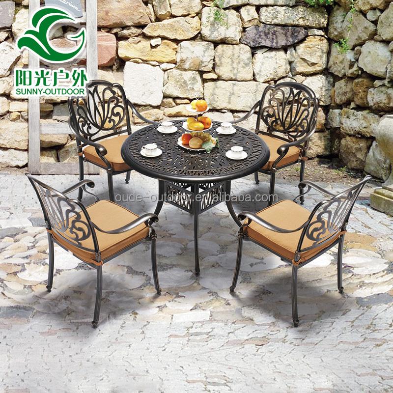 In alluminio per esterni mobili in metallo sedie da for Mobili da giardino metallo