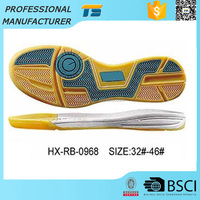 Hot Sale Custom Rubber Soccer Shoe Outsole Manufacturer