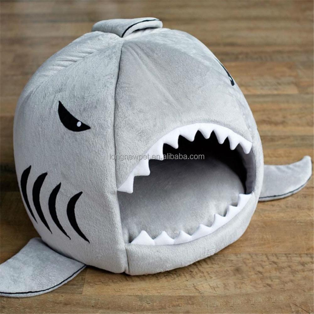 Designer Dog House Shark Pet