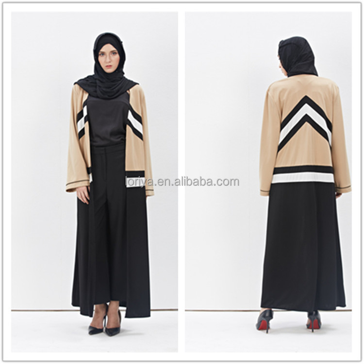 Factory Sale Muslim Tops Front Open Coat Dubai Kimono abaya Pakistan Jubah muslimah maxi dress