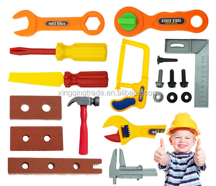 19pcs/set Plastic ABS Baby Garden Tool Set Simulation Repair Tool Toy Early Learning&Education Play house toys for Children