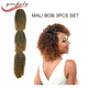2017 Alibaba Express new premium mali bob Mambo Crochet Twist Synthetic Afro Kinky Twist Braid For Hair Extension braiding hair