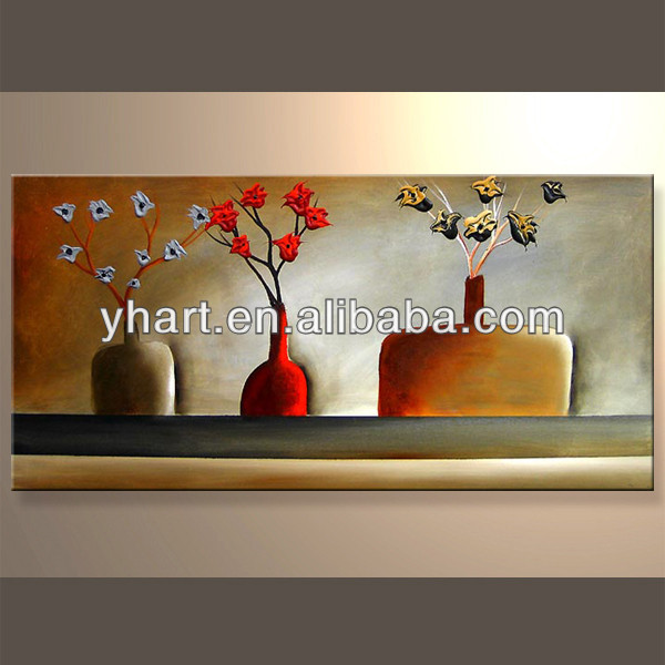 Wholesale Wall Decor Painting Art Picture Abstract Flowers